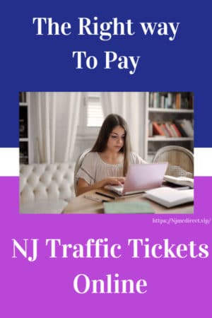 right way to pay NJMC traffic tickets online
